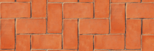 terracotta surface