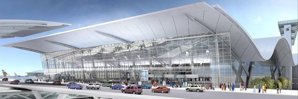 Aeroporto Qatar : Nuovo aeroporto di doha trattamento superfici fila