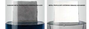 Damaged Metal into Hydrochloric Acid