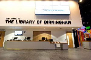 library birmingham reception