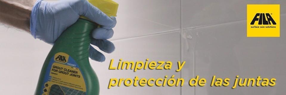 Limpieza y protecci n de las juntas fuganet y fugaproof for Limpiador de juntas