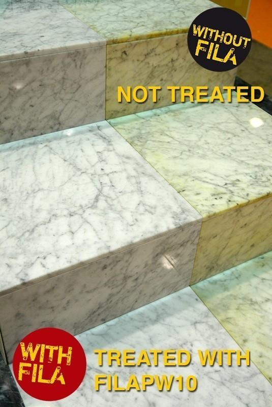 Naturstein vorbeugender Schutz auf Wasserbasis PW10