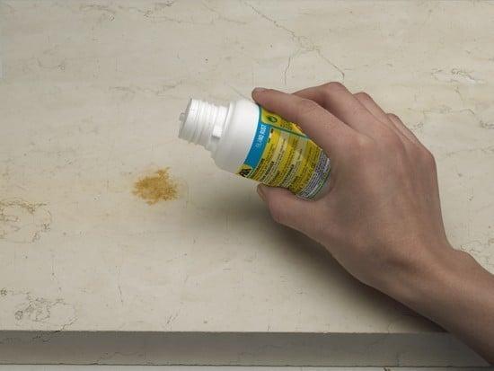 Come togliere le macchie di ruggine con filano rust