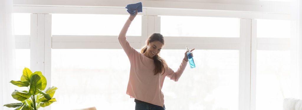Especial de limpieza de primavera 2020: ¡limpiar su casa es bueno para su salud!