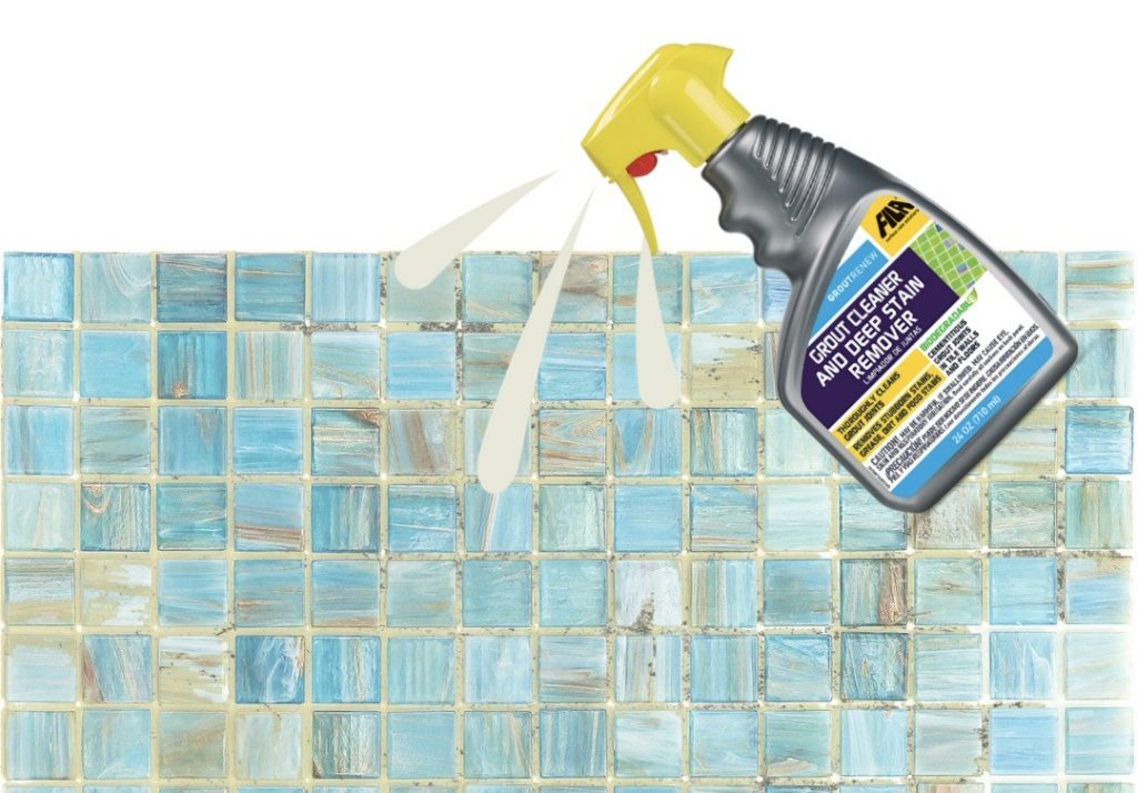 How to use grout cleaner, how to clean tile grout