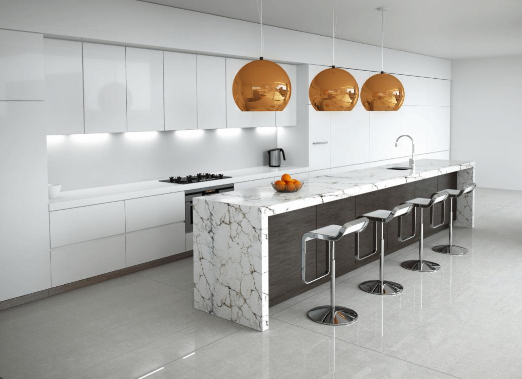 Stone sealer, marble worktop, natural stone floor