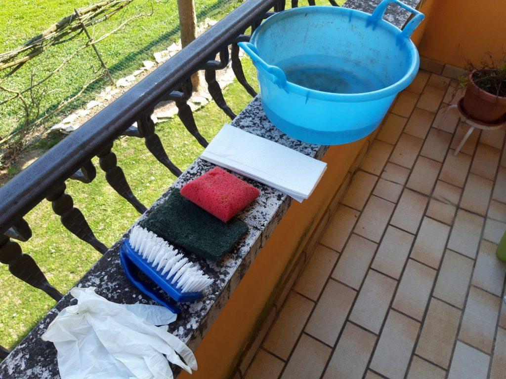 ALGAE NET detergente anti alghe per esterni