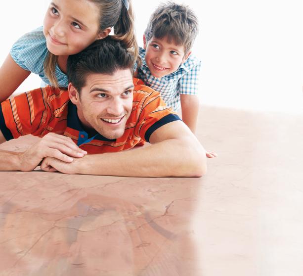 Wohngesundheit mit professionellen Produkten für Schutz und Pflege von Naturstein