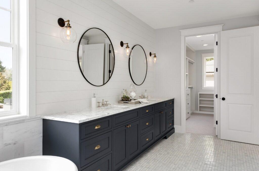 baño limpio y saludable
