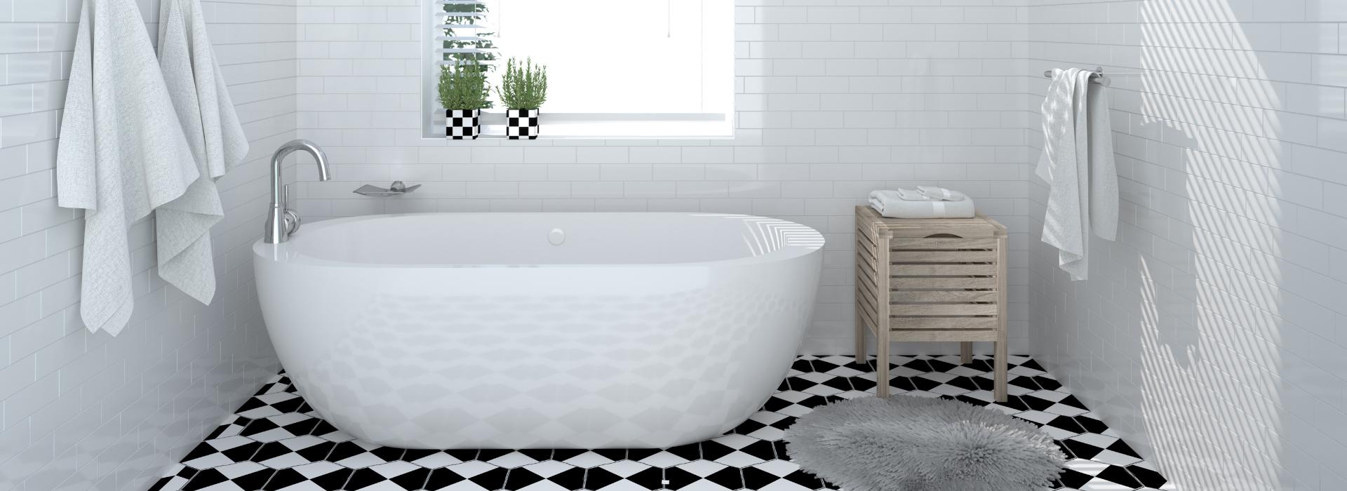 baño limpio y perfecto