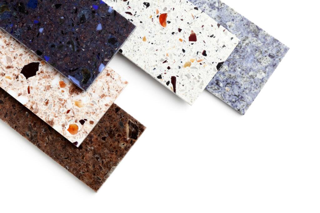 quartz resin kitchen countertops