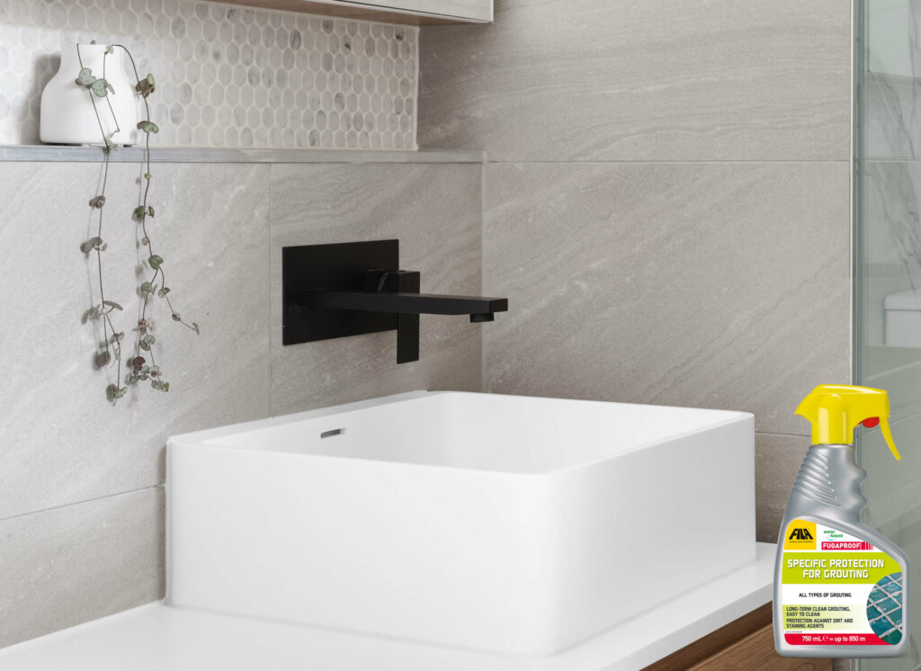 Eco Cleaning and protection for grout